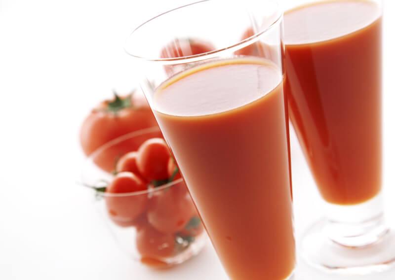 トマトのコールドプレスジュース